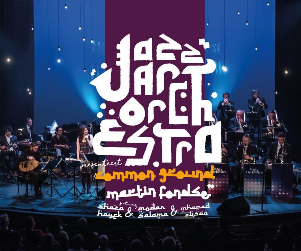 Modar Salama in samenwerking met JazzArt Orchestra