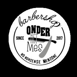 Barbershop onder het Mes logo